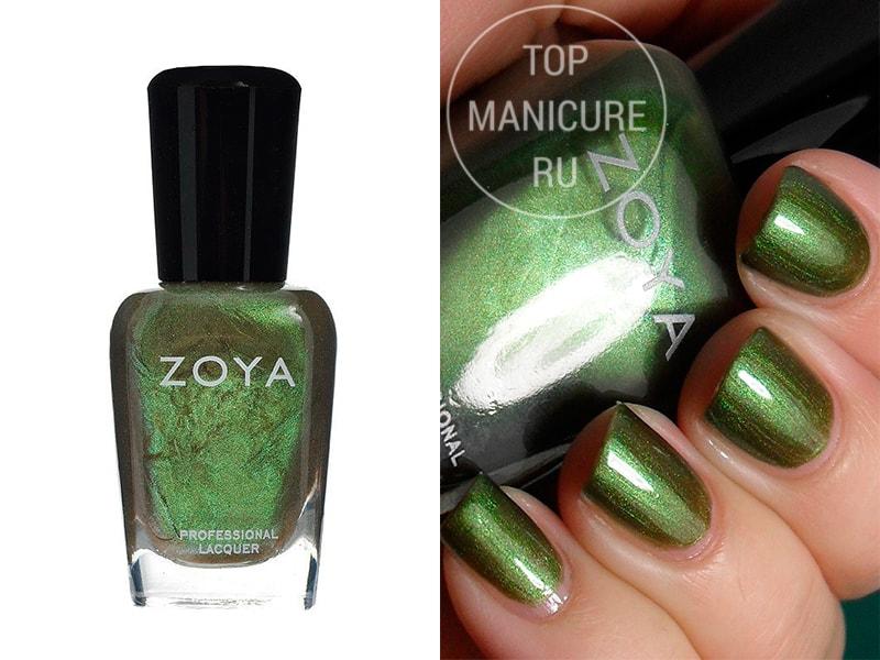 Зеленый лак для ногтей Zoya Irene