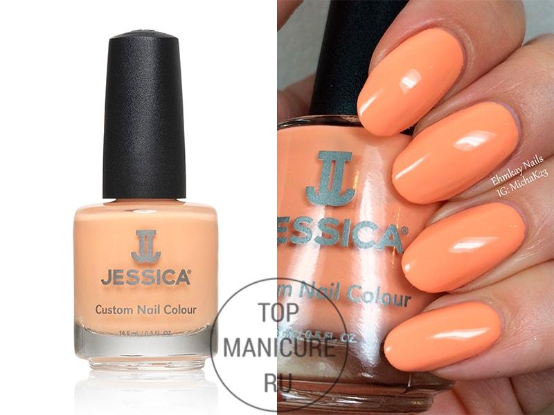 Персиковый лак для ногтей jessica boho babes