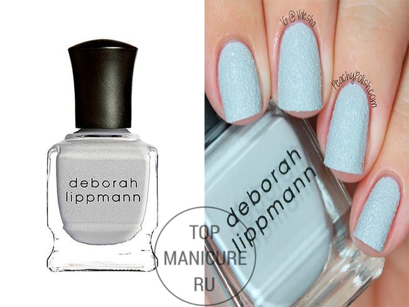 Серый лак для ногтей deborah lippmann pretty vacant