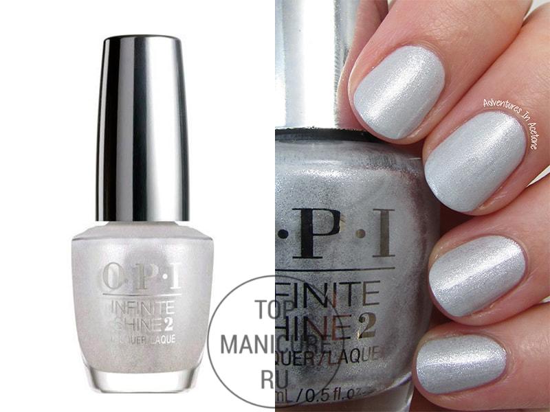 Серый лак для ногтей opi go to grayt lenghts