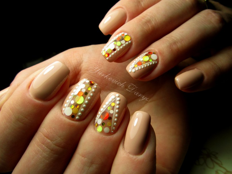 Дизайн ногтей с камифубуки