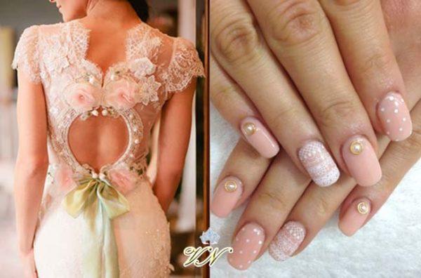 Свадебный маникюр (фото) для невесты - модные тенденции