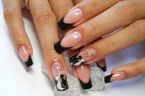 Дизайн ногтей с рисунками