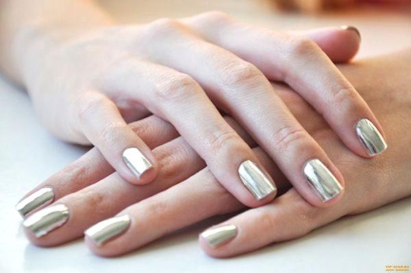 Бежевый маникюр: на короткие ногти