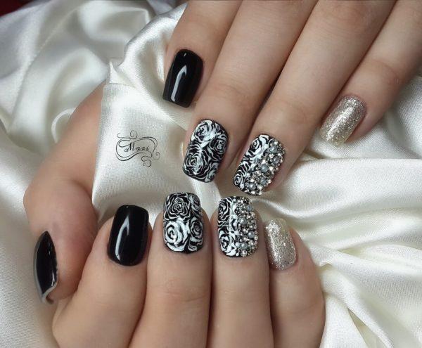 Модные рисунки на ногтях: все модные новинки, фото