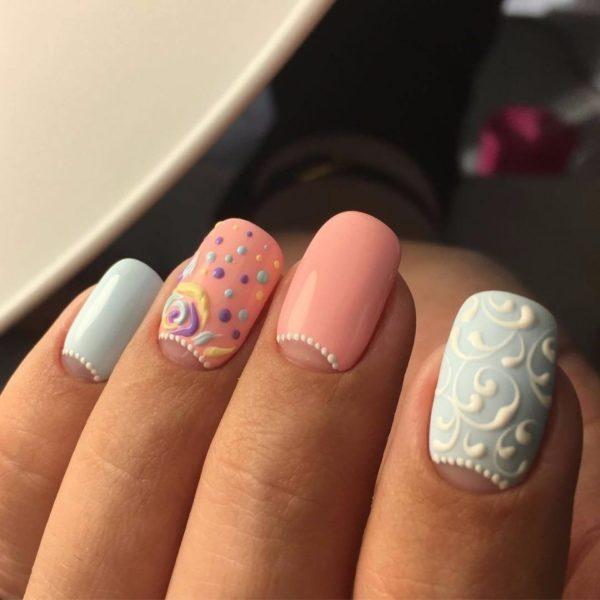 Модные рисунки на ногтях: все модные новинки