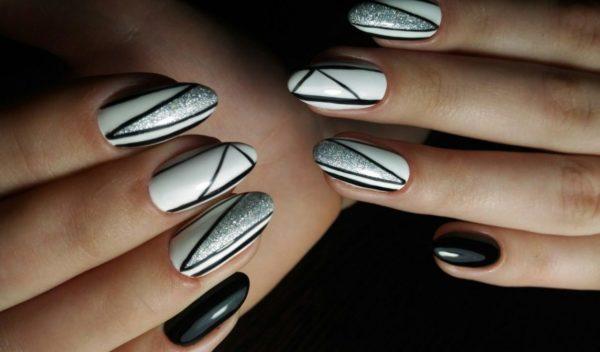 форма ногтей мендаль