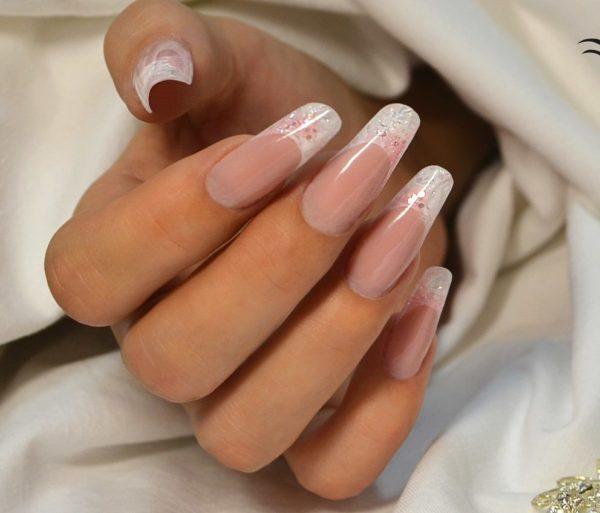 арочное моделирование ногтей дизайн