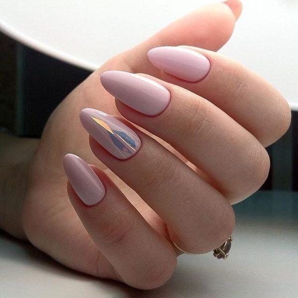 Форма ногтей миндаль фото