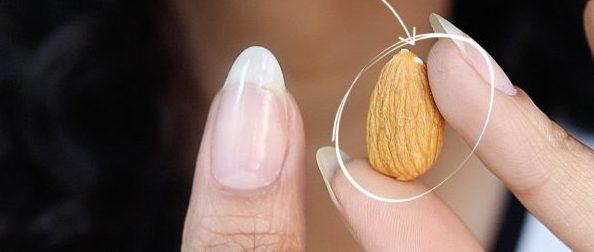 Форма ногтей миндаль, фото