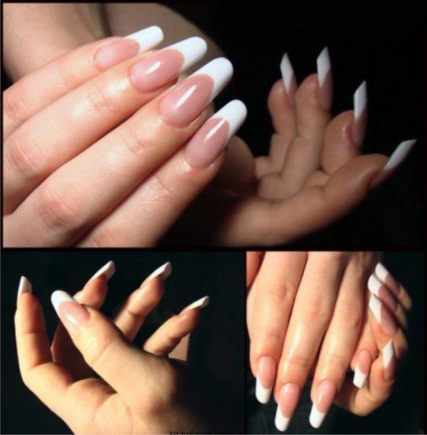 Форма ногтей пайп фото