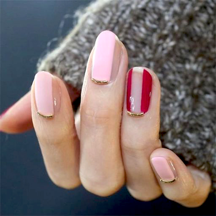 контуринг ногтей