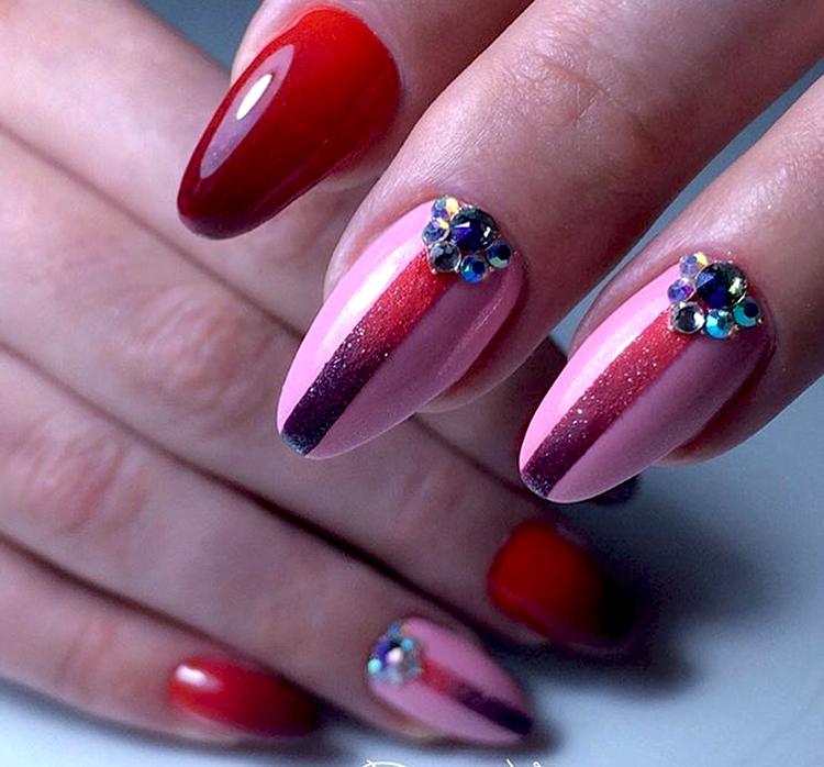 маникюр контуринг ногтей